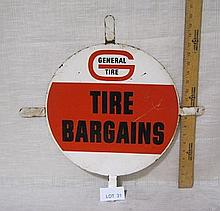 General Tire tire insert sign