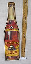 Royal Crown Cardboard sign - new