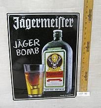 Jagermeister Liquor sign - new