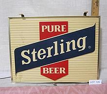 Lighted Beer Sign - Sterling Beer