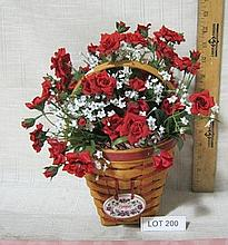 1996 Longaberger Bouquet Basket