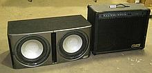 Crate Amplifier & Infinity Speakers