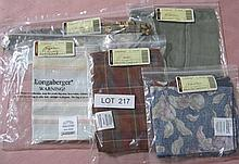 Longaberger Cloth Inserts for baskets