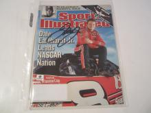 D. Earnhardt Jr auto magazine