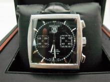 Mens Tag Heuer Monaco CAW2110 Calibre 12 Automatic Stainless Steel Watch