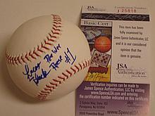 Lucas Black Signed Baseball