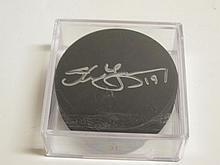 Steve Yzerman Signed NHL Puck