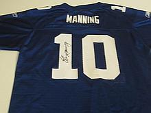 Eli Manning Signed Jersey