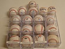 Lot of 18 Signed Baseballs
