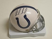 Andrew Luck Signed Mini Helmet