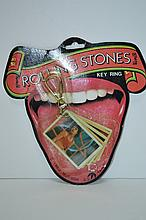 1983 Rolling Stones Key Ring