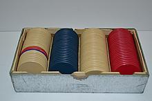 Vintage Bakelite Poker Chips