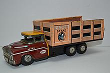 Vintage Tin Toy Dodge Truck