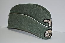 WWII Nazi Military Side Cap