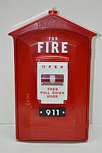 Vintage Fire Call Box Phone