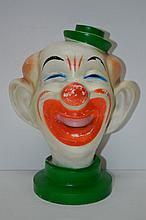 Vintage Clown Head Bank Vinyl