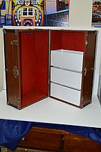 TWA Vintage Doll Wood Trunk