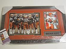Brian Sipe Signed Display