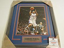 Chris Paul Signed Display