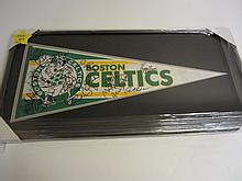 Boston Celtics Signed Display