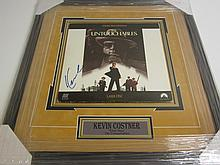 Kevin Costner Signed Display