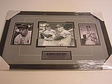 Mantle / Dimaggio Signed Display