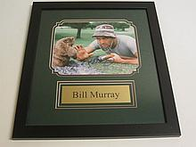 Bill Murray Signed Display