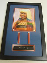 Nicki Minaj Signed Display