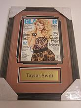 Taylor Swift Signed Display