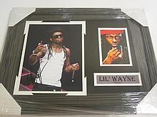 Lil' Wayne Weezy Signed Display