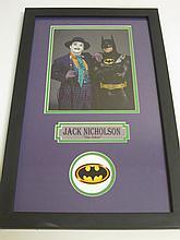Jack Nicholson Signed Display