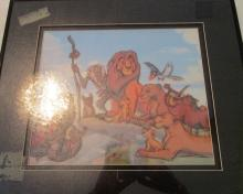 The Lion King - Framed Artwork - 17 x 19 inches