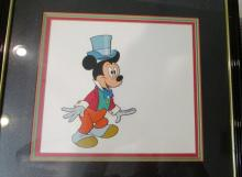 Mickey Mouse - Framed Artwork - 16.5 x 17.5 inches