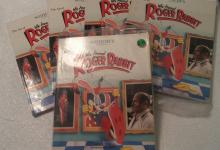 5 -The Art of Who Framed Roger Rabbit Book - Sotheby's - June 28, 1989- 2 with covers