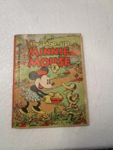 2The Pop-up Minnie Mouse Book  - 1930s - Pop-ups in good condition plus 4 additional books