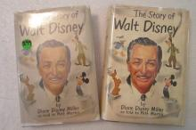 2 The Story of Walt Disney Books by Diane Disney Miller