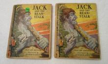 2 Jack and the Bean- Stalk - Books - 1933 - Illustrated by Harold B Lentz