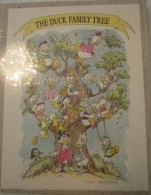 The Duck Family Tree Book - Limited ed of 5000 - Donald Duck - 50 years of happy Frustration