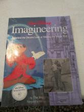 Walt Disney Imagineering - A Behind the Dreams Look at Making the Magic Real - Book - New and Sealed