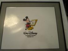 Mickey Mouse Souvenir Cel - Walt Disney - 13.5 x 16 inches