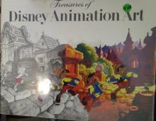 3- Treasures of Disney Animation Art - Book - Canemaker Abrams