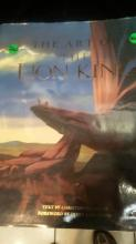 3-The Art of The Lion King Book - Christopher Finch