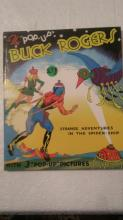 4 Buck Rogers Pop-Up Book - Strange adventures in the Spider- Ship