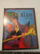 3- Disney's Villains A Pop-Up Book - Disney Press - New and Sealed