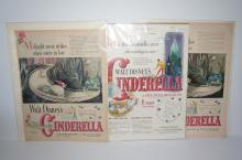 3 - Cinderella Articles - Saturday Evening Post -December 31,  1949 and 2 others