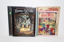 4 Snow White Books - The Complete of Story of Walt Disney's Snow White and 2 others