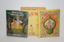 3 Erotic Books - Pop UP Kara Sutra, Oriental Erotic, and The Girls for La Vie Parisienne