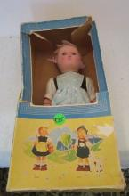 Greti Doll by Goebel - 1940s - Original Packaging - 10 Inches