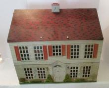 Vintage Doll House - Mid Century - 19 Inches in Metal