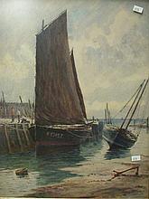 JAMES HERON (ENGLAND, fl. 1873 -1919): WATERCOLOR TITLED